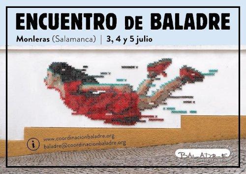 Encuentro Baladre, Monleras, Salamanca, 3, 4 y 5 de julio