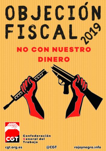 Cartel Objeción Fiscal