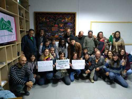 Foto desde el encuentro d eBaladre, Málaga, Nov 2019
