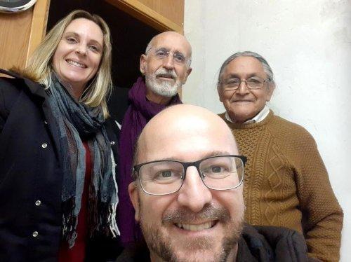 En la llegada en Alacant, casa de Mapu