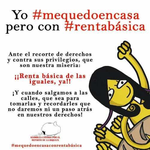 #YOMEQUEDOENCASA pero con #RENTABÁSICA