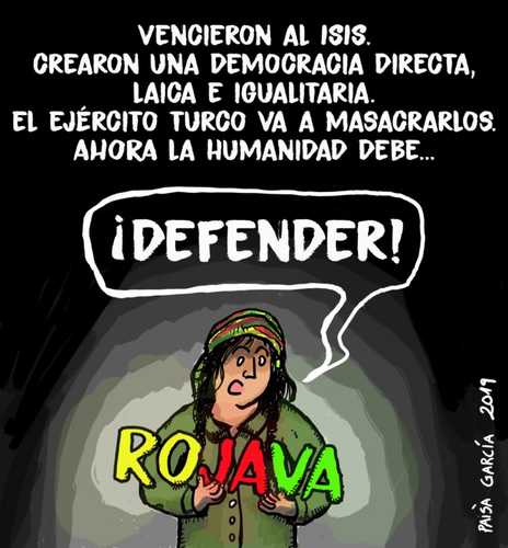 Rojava, la revolución de mujeres ignorada